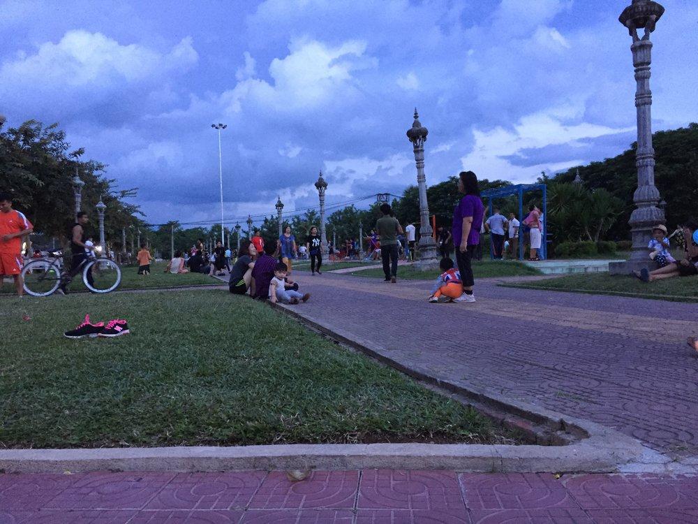 Sor Kheng Park, Battambang
