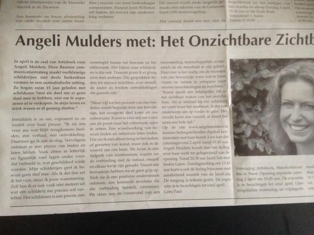 Interview Angeli Mudlers door Cees Paul
