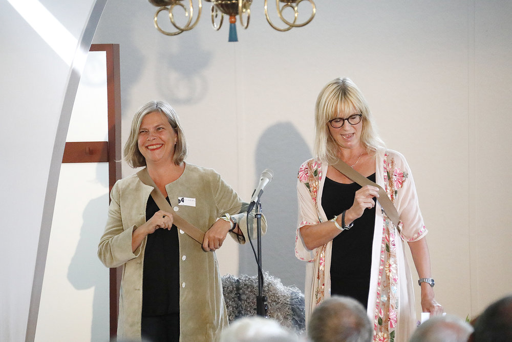 Elisabeth Wickström och Cilla Ungerth Jolis