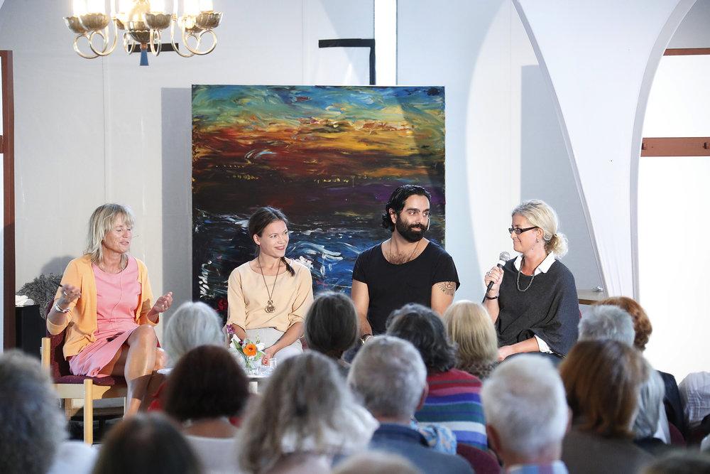 Copy of Cecilia Bodström, Johanna Gustafsson, Navid Modiri, Elisabeth Hjort