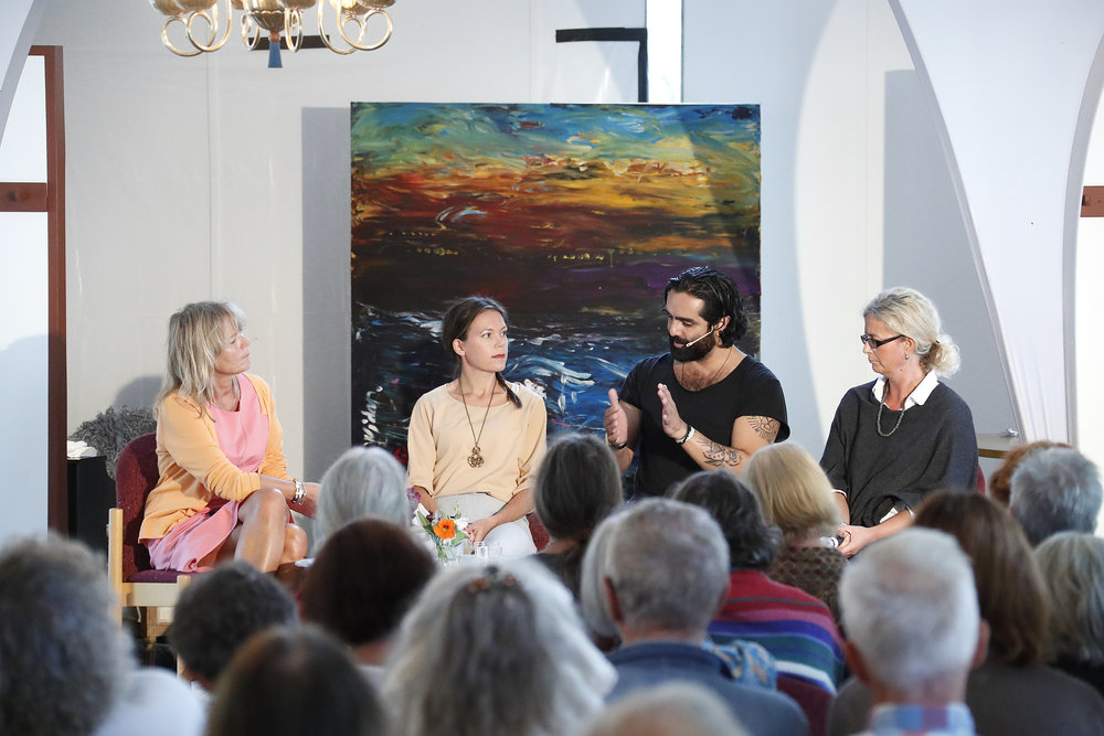 Cecilia Bodström, Johanna Gustafsson, Navid Modiri, Elisabeth Hjort