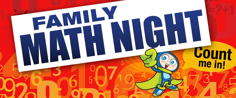 Image result for math night clip art