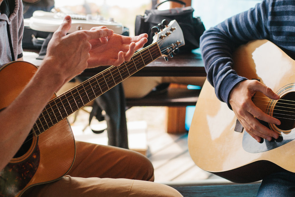 Guitar teacher beginners london