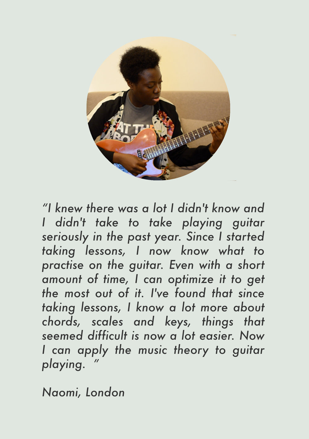 london guitar lessons hackney