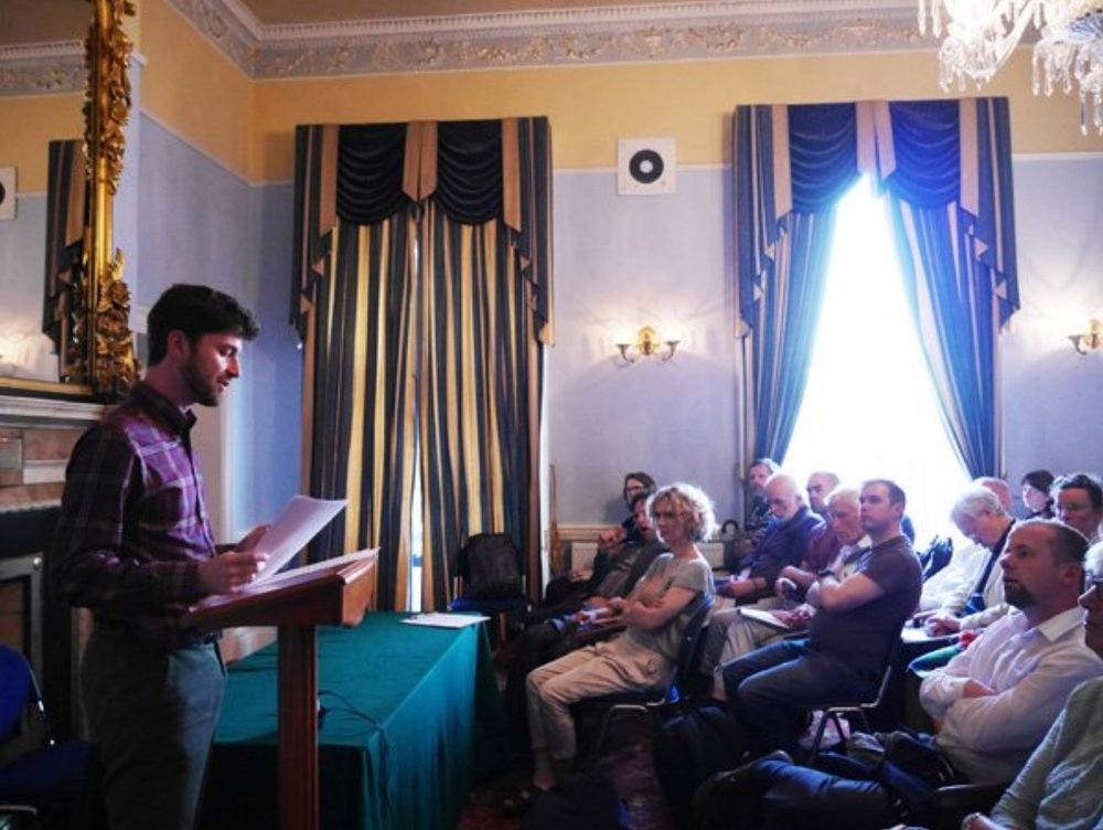 Ross Perlin at The Teacher's Club Dublin, July 25, 2017. Photography by Fiona Hallinan.