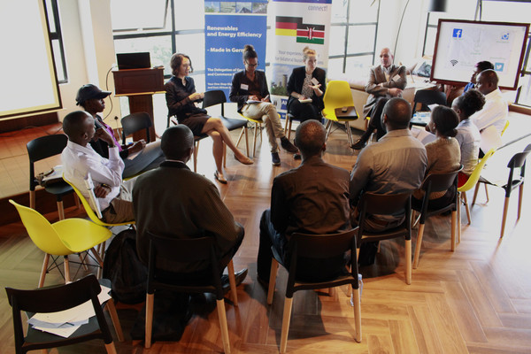 Sustainable business and technology workshop with the german chamber of commerce in nairobi, kenya (Photo: ahk kenya)