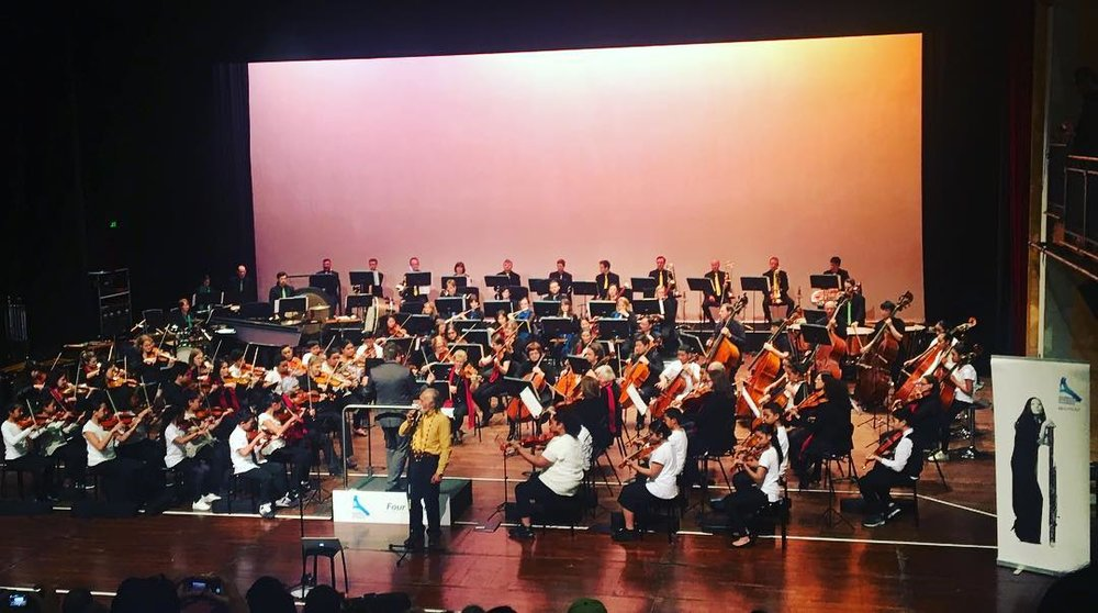 August 2018:  It was an honour to hear Tigilau Ness singing with  Auckland Philharmonia Orchestra  and  Sistema Aotearoa  on my arrangement of a traditional Niuean song!
