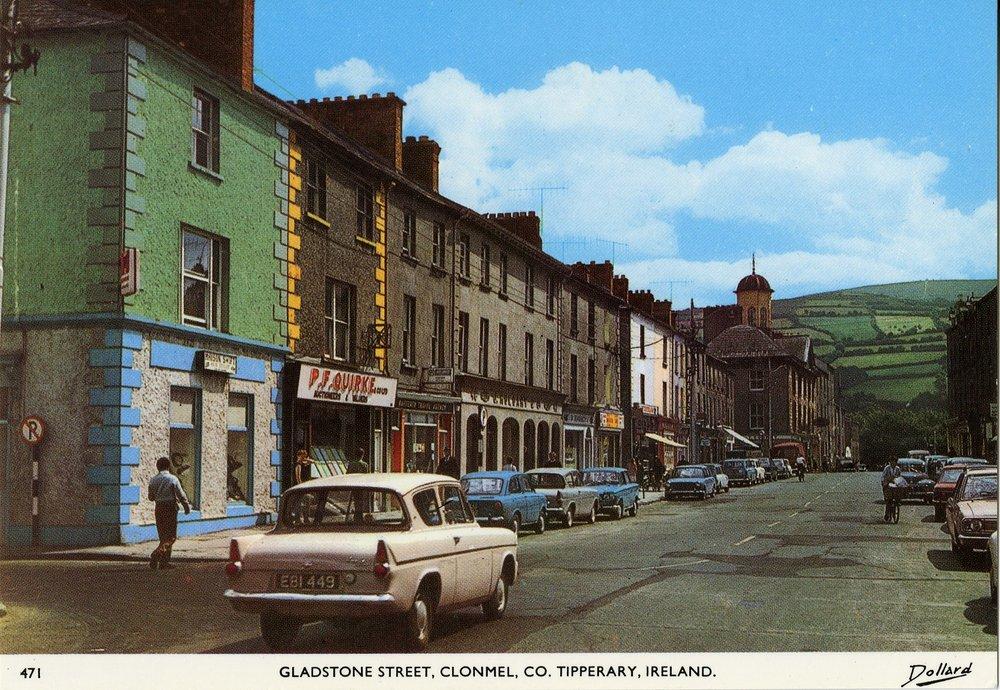 Tipp Museum -  Image 3. Retro Gladstone Street, Clonmel 1987.576.15.jpg
