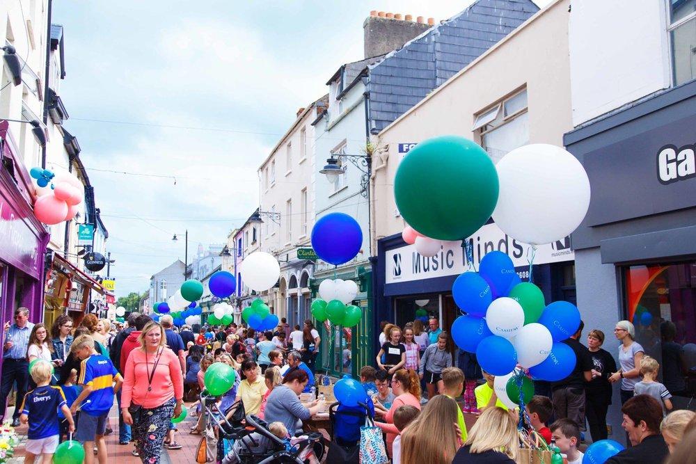 Camida Street Party 2017. Image: Brid O'Donovan