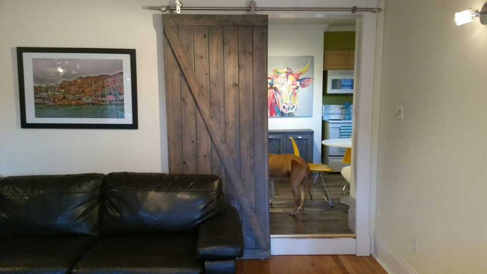 DIY Barn Door - Calm Chaos Blog