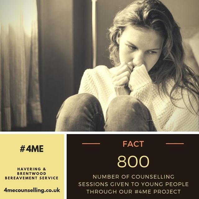 Through our #4ME project we helped school children cope with bereavement through counselling over the past 2 years and the programme is going from strength to strength with plans to reach out to more young people in the months ahead #Essex #Havering #Counselling #HBBS