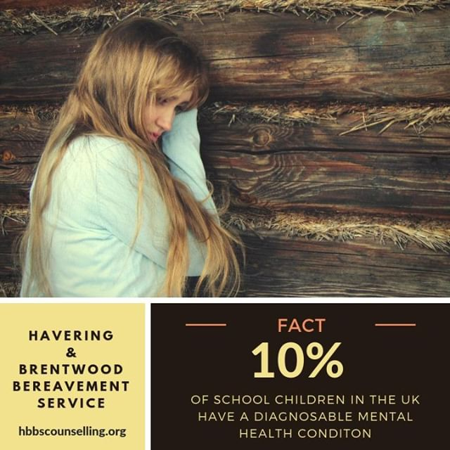 It's a fact - 10% of school children have a diagnosable #MentalHealth condition in the UK. Our #4ME programme offers counselling support to young people across #Havering, #Brentwood & parts of #Essex. Call 01277 283199 or visit for more information ow.ly/srtB30m4V0h
