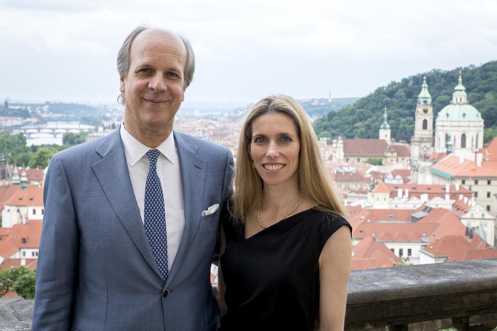 William and Alexandra Lobkowicz
