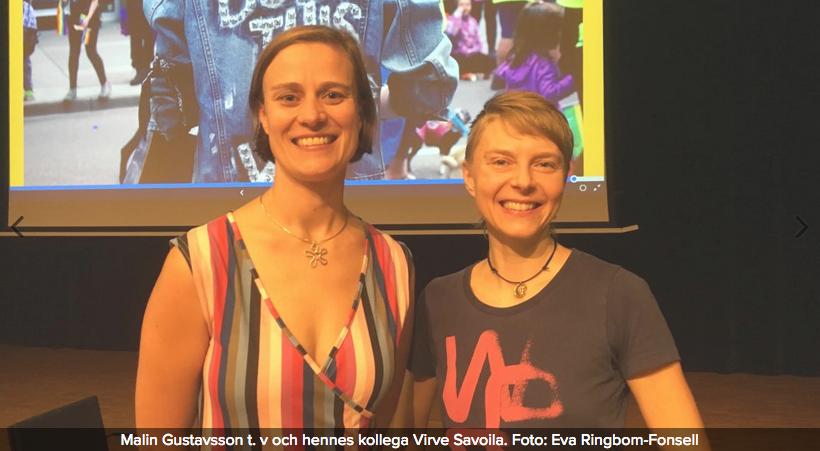 Könsroller inom yrkesutbildningen förändras långsamt  (Ålands Radio, 20.9.2018)