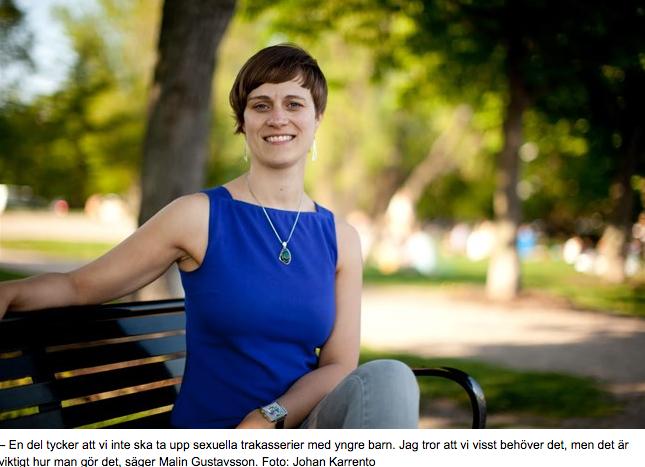 Hem och Skola: Så pratar du med ditt barn om sexuella trakasserier  (Vasabladet, 9.8.2018)