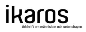 Hur konkretiseras teorin på arbetsplatsen?  (tidskriften Ikaros, 2011)