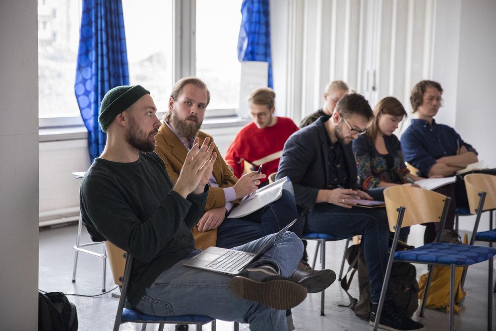 Utbildningstillfälle 27.10.2018