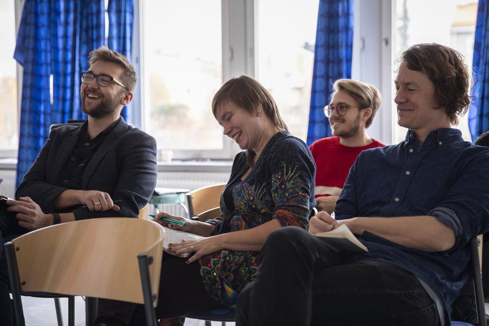 Utbildningstillfälle för teamets föreläsare 27.10.2018