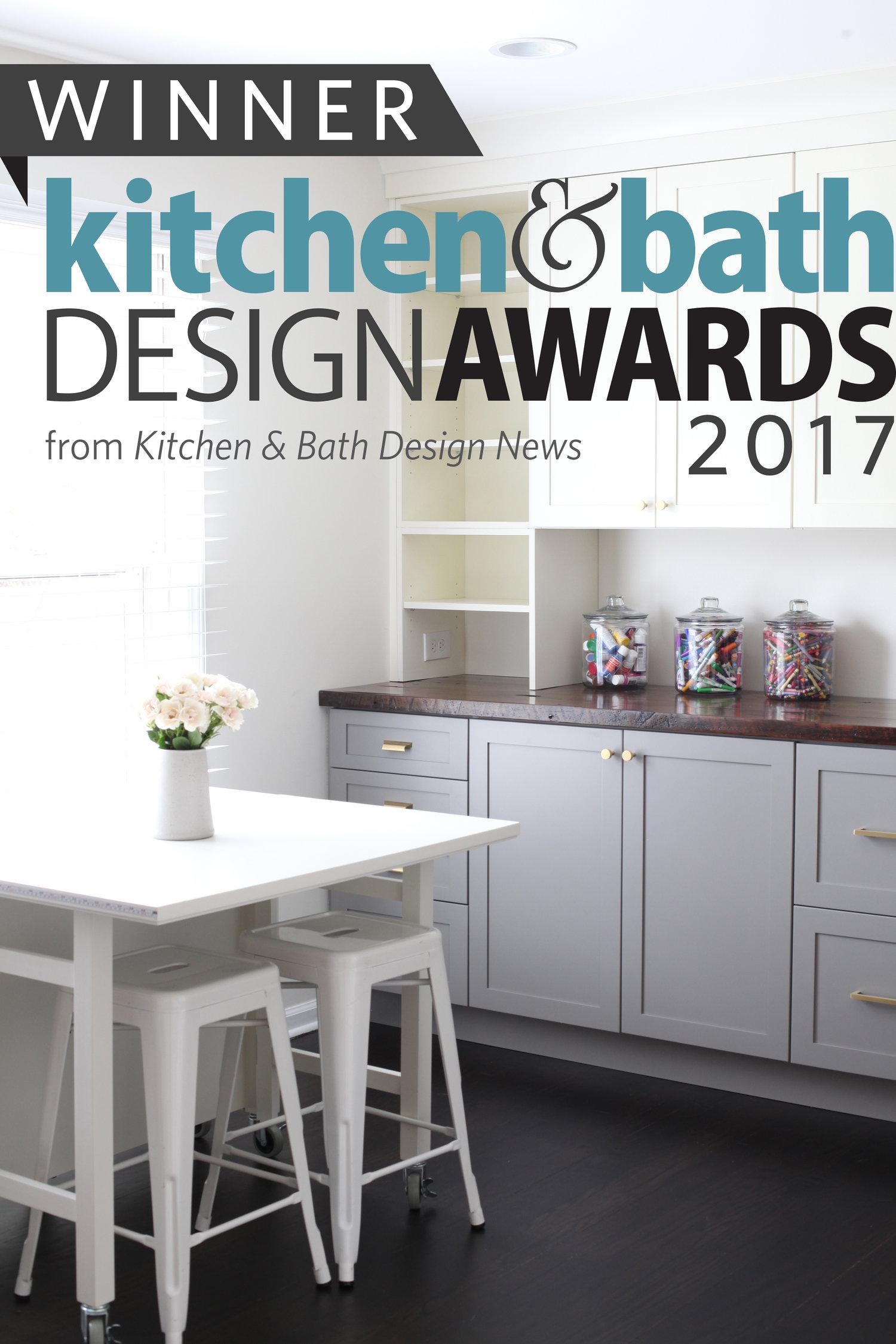 2017 Kitchen & Bath Design Competition — EMBER & BRUNE
