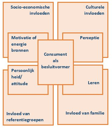 consument als besluitvormer