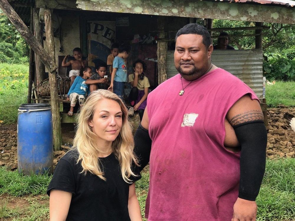 Me & Samoan Tavita