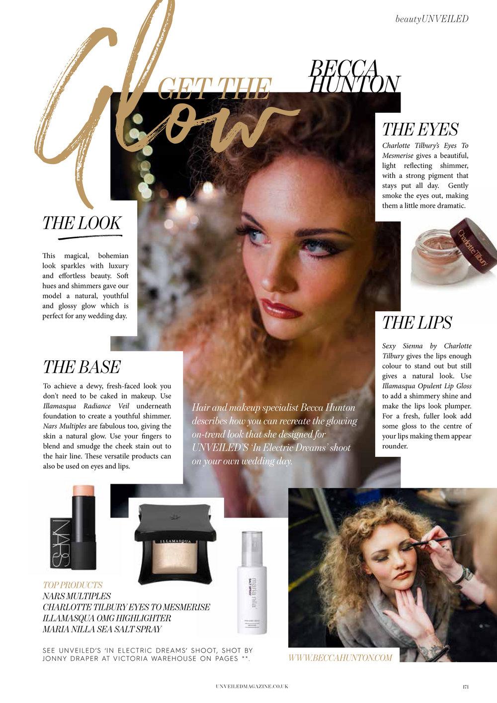 unveiled magazine becca hunton