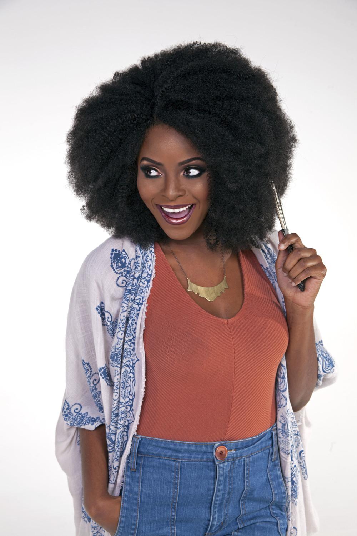 Afro, Full Crochet Style