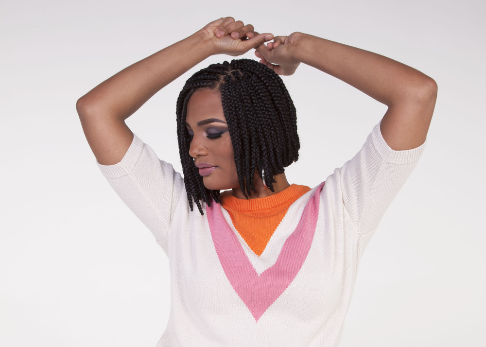 Spring Summer 2016 70s Chic Box Braid Bob