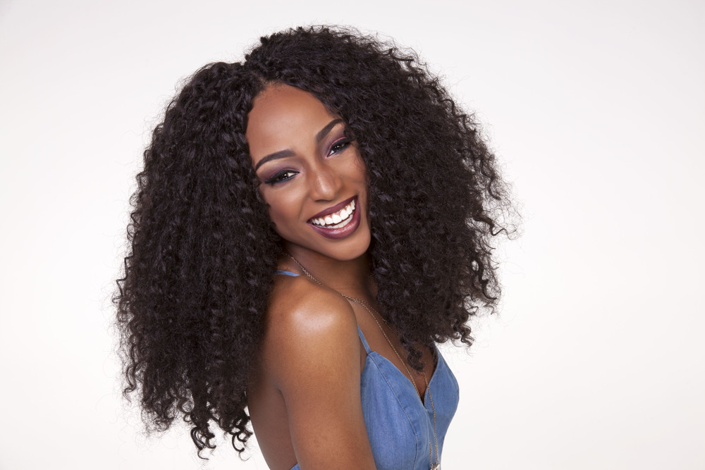 Spring Summer 2016 70s Chic Natural Hair Blowout
