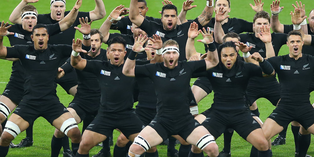 New Zealand's  All Blacks  have given the   haka   international recognition by performing it before every match, and in the process making it a distinctive feature of their brand. The haka is a type of ancient Māori war dance traditionally used on the battlefield, as well as when groups came together in peace. Haka are a fierce display of a tribe's pride, strength and unity; it includes violent foot-stamping, tongue protrusions and rhythmic body slapping to accompany a loud chant.