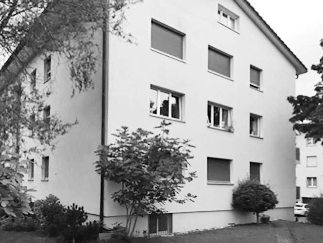 … in Männedorf ein Mehrfamilienhaus mit 9 Wohnungen