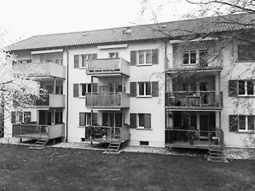 … in Burgdorf ein Mehrfamilienhaus mit 11 Wohnungen