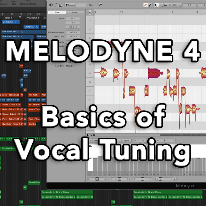 Melodyne 4 - Basics of Vocal Tuning