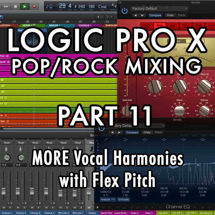 PART 11 - MORE Vocal Harmonies with Flex Pitch