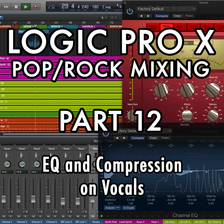 PART 12 - EQ and Compression on Vocals