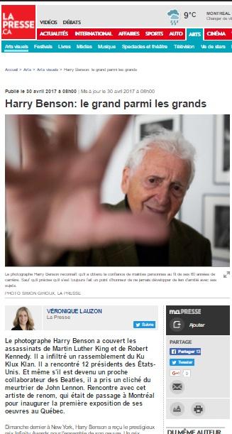 La Presse, April 28th 2017