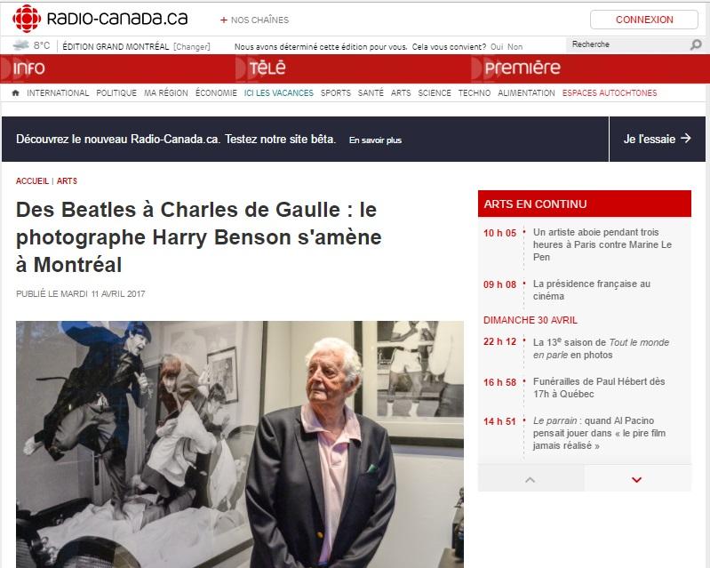 Radio-Canada, 11 avril 2017
