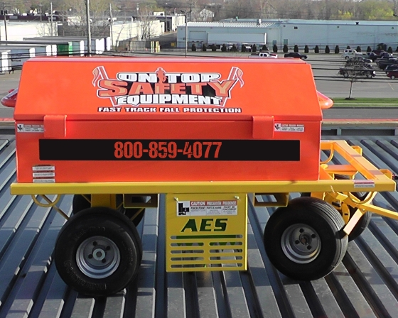 On Top Safety Mobile Fall Protection and Guardrail System