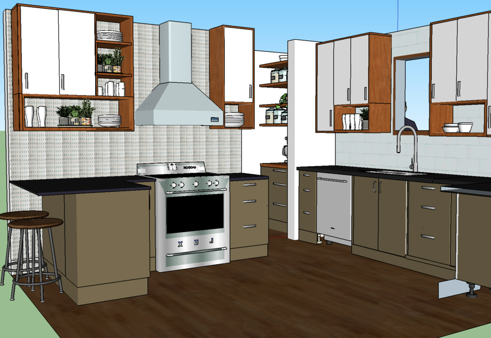olliePop Design // Kitchen remodel design