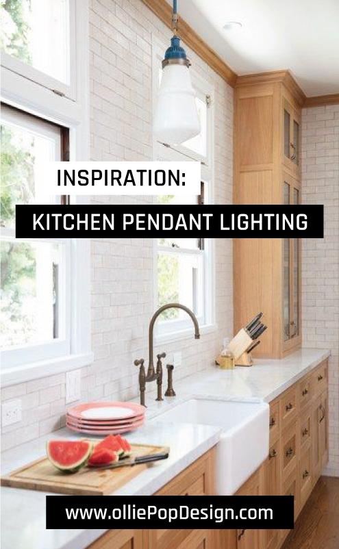 olliePop Design // Inspiration : Kitchen Pendant Lightingin