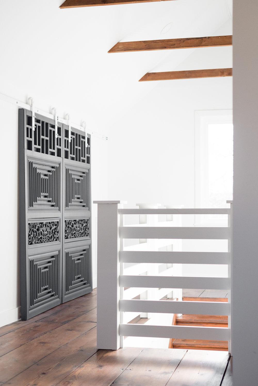 modern attic remodel