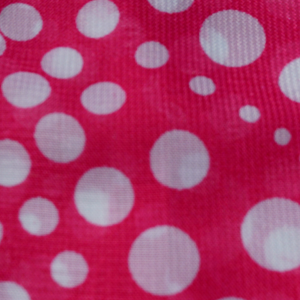 Pink & White Polka Dot