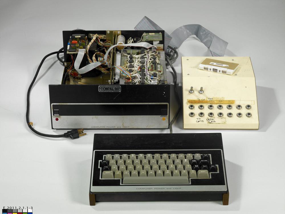 Prototype LM1 Drumcomputer, Roger Linn, 1979,Musée de la musique