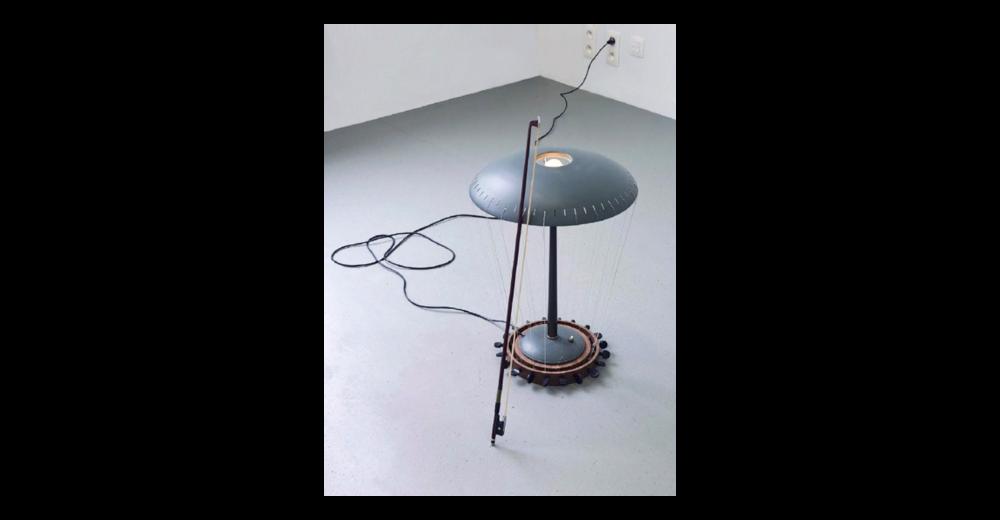 Table Lamp Violin