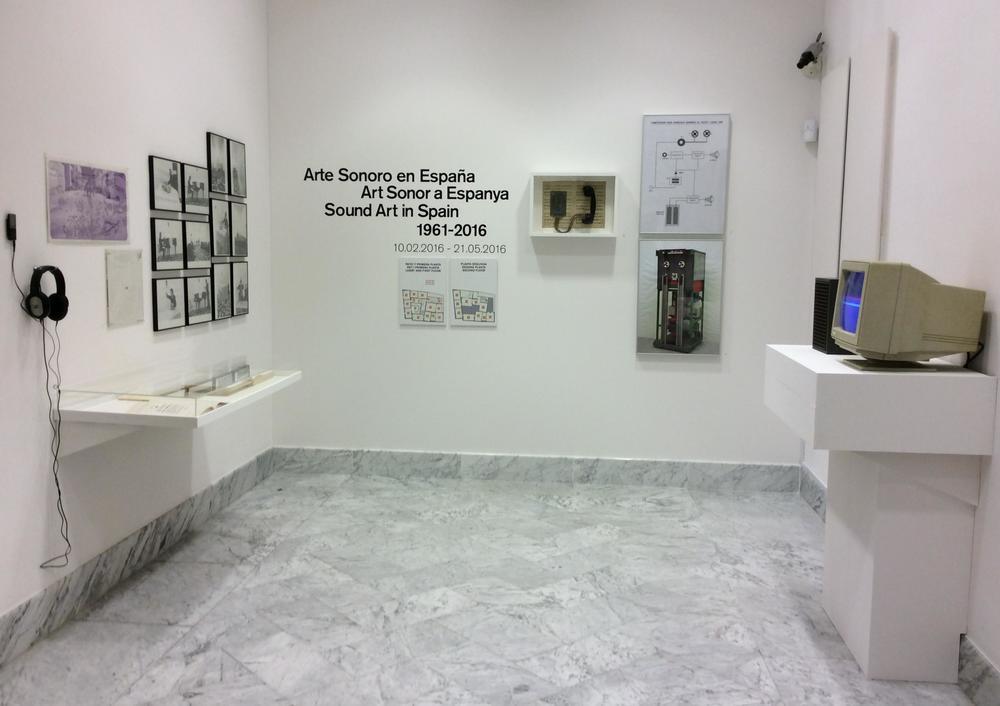 Arte Sonoro en España 1961-2016
