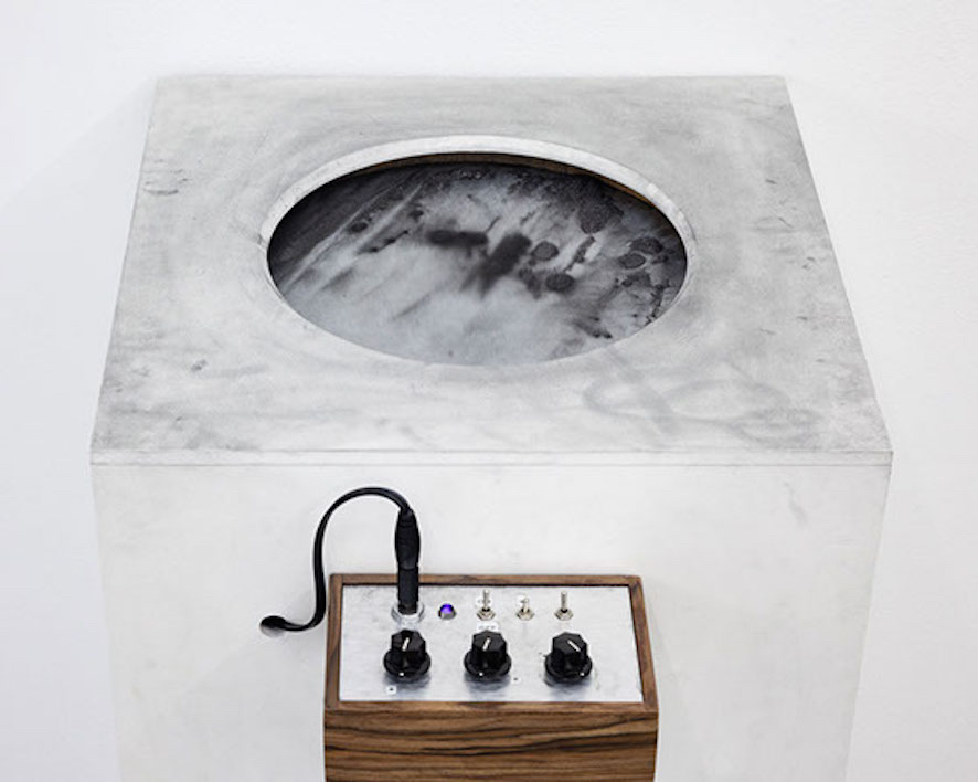Vicky Browne, The Graphite Drawing Machine, 2015
