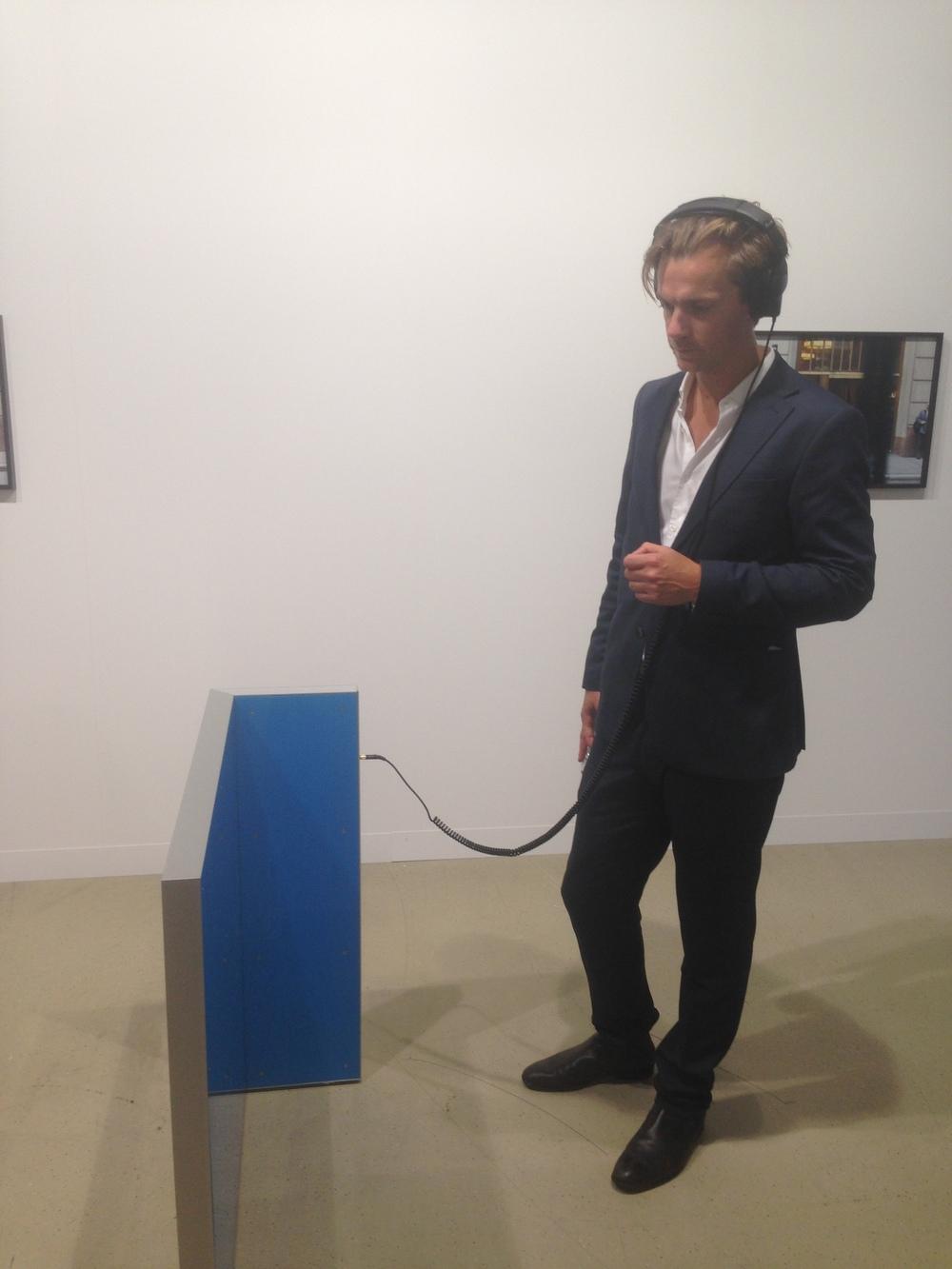 Frank Heath, Privacy Window (Wearing a Wire), 2016