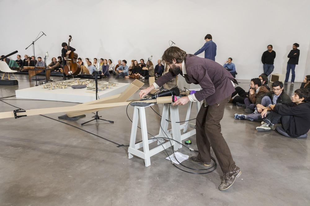 "BMW Tate Live 2016: Tarek Atoui, ""The Reverse Sessions"", Performance © Omar Luis Olguín, 2014 (04/2016)"