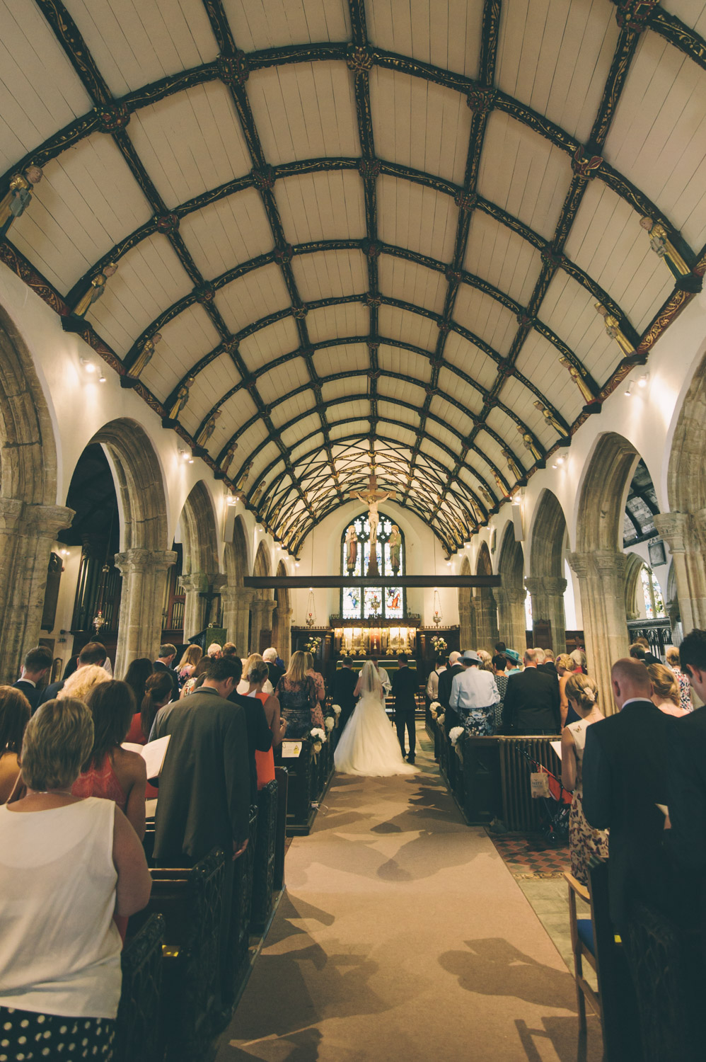 st ives church wedding