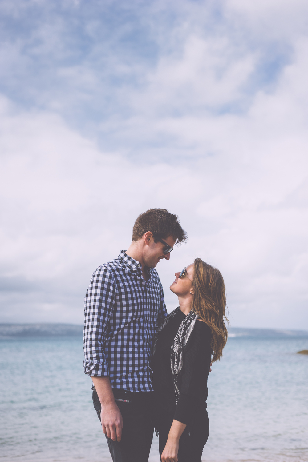 engagement photography cornwall